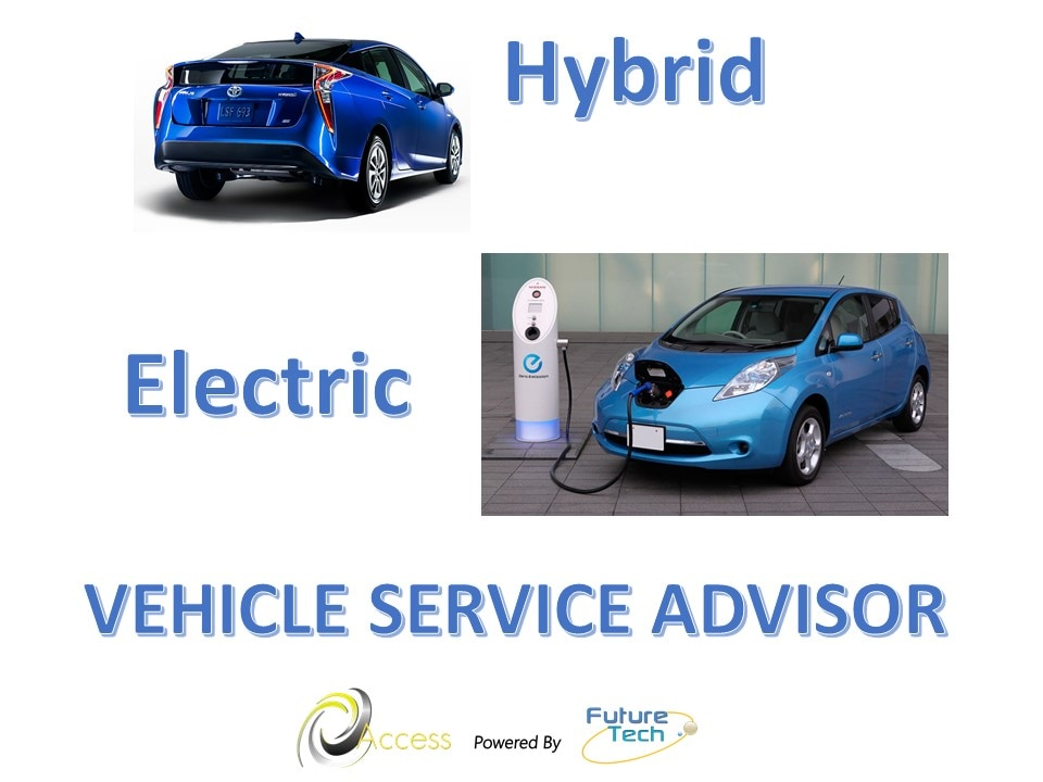 Access Online Training: Service advisor and manager training for hybrid electric vehicles