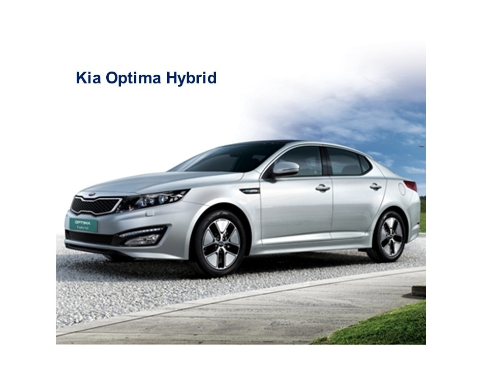 Access Online Training: Kia optima hybrid overview